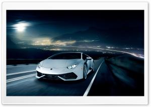 Lamborghini Huracan on the...