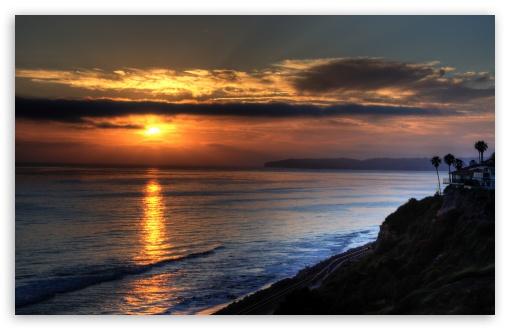 Download San Clemente Sunset UltraHD Wallpaper