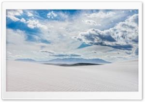 Landscape, White Sands, New...