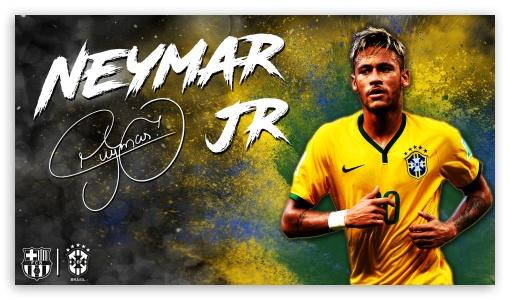 Download Neymar Jr. Barcelona Brazil UltraHD Wallpaper