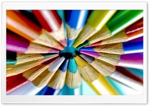 Colored Pencils Circle