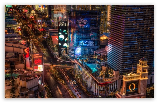 Download Las Vegas Boulevard UltraHD Wallpaper