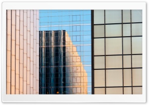 Skyscrapers Reflection
