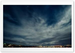 Armenia, Yerevan, Night Sky,...