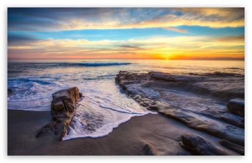 Download San Diego Beach Beautiful UltraHD Wallpaper
