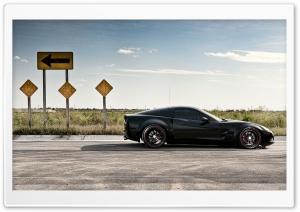 Chevrolet Corvette On Road