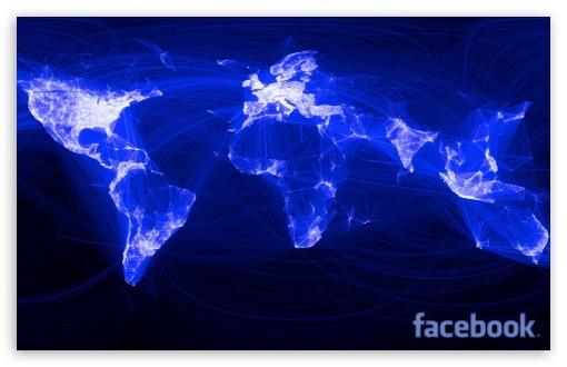 Download Facebook World Network UltraHD Wallpaper