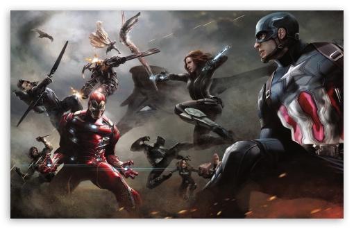 Download Captain America Civil War Artwork UltraHD Wallpaper
