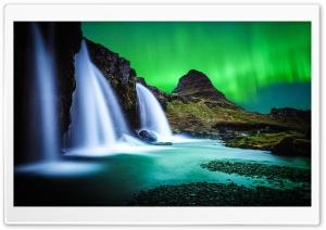 Kirkjufellsfoss waterfall,...