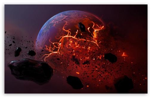 Download Dead Planet - By Roy Korpel UltraHD Wallpaper