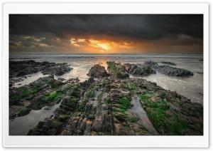 Sandymouth Beach Low Tide