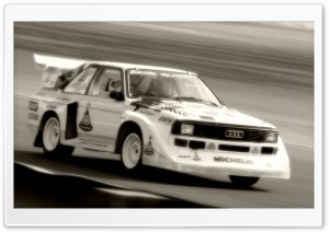 Audi S1 Quattro Rally Car 1