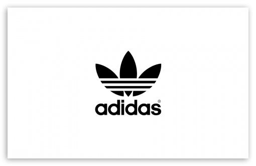 Download Adidas, White Background UltraHD Wallpaper