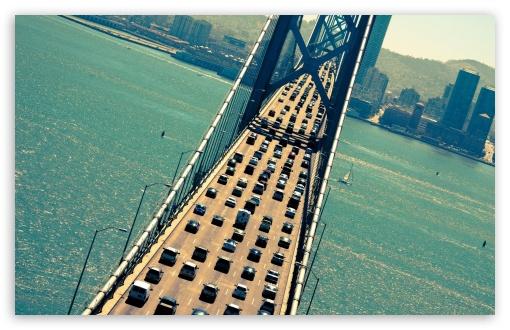 Download Bay Bridge UltraHD Wallpaper