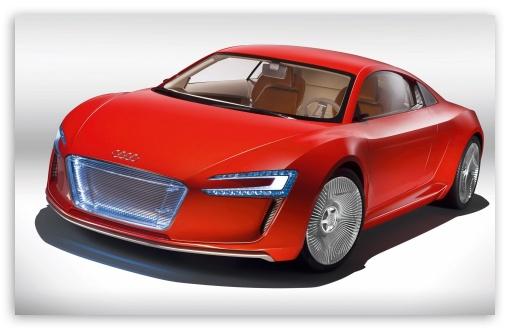 Download Audi E Tron Car UltraHD Wallpaper