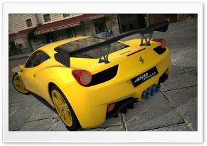 458 Italia Matte Yellow
