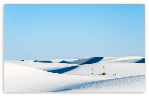 Download Desert, White Sands National Monument, New... UltraHD Wallpaper