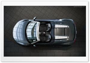 Audi R8 V10 Spyder from above
