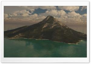Mountain Island 3D