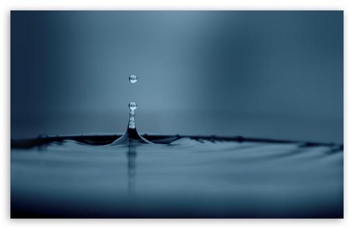Download Water Drop UltraHD Wallpaper