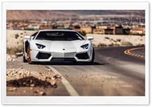 Lamborghini Aventador Roadside