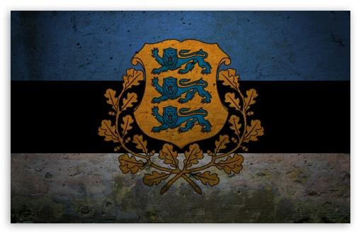 Download Presidential Flag Of Estonia UltraHD Wallpaper