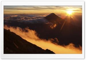 Sunrise Over Acatenango...