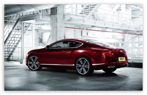 Download 2012 Bentley Continental V8 UltraHD Wallpaper