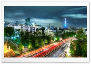 Tokyo Evening HDR