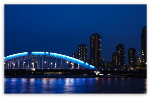 Download Eitai Bashi Bridge, Japan UltraHD Wallpaper