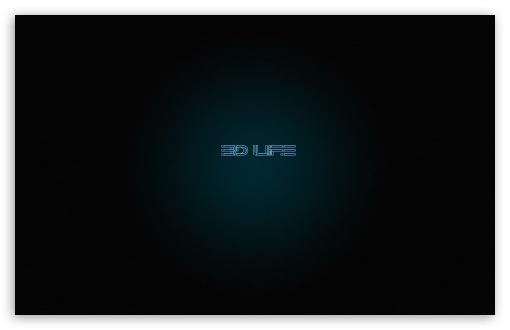 Download 3D Life UltraHD Wallpaper
