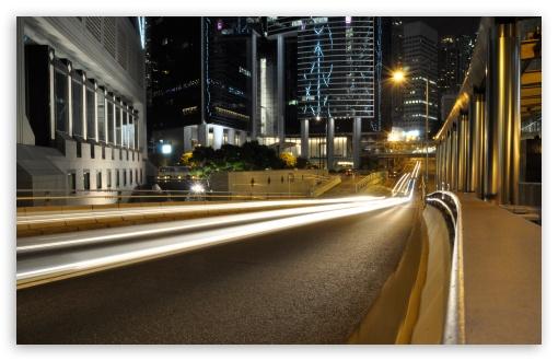 Download Hong Kong Street UltraHD Wallpaper