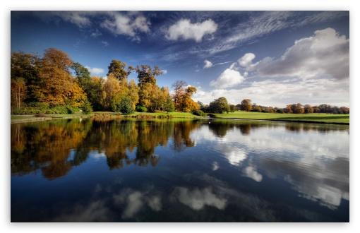 Download Autumn   Lake UltraHD Wallpaper