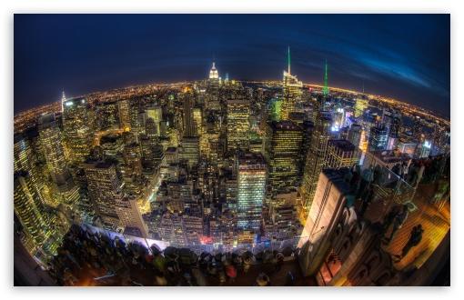 Download Eye Over New York UltraHD Wallpaper