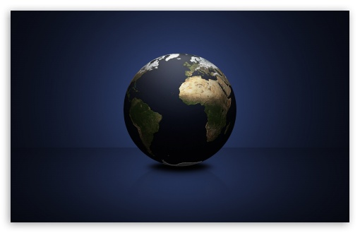 Download World Globe UltraHD Wallpaper
