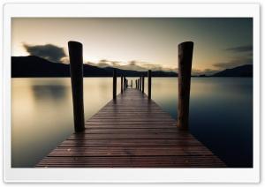 Pier Dawn Lake