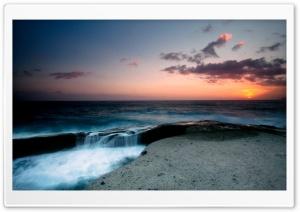 Beautiful Seascape, Evening