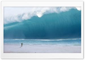 Man vs. Tsunami