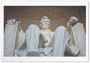 Abraham Lincoln Memorial...