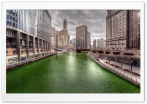 Dyeing the Chicago River Green