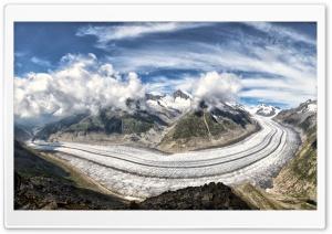 The Great Aletsch Glacier,...