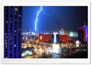 Lightning Over Las Vegas