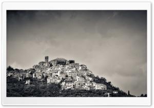 Italian Hill Landscape