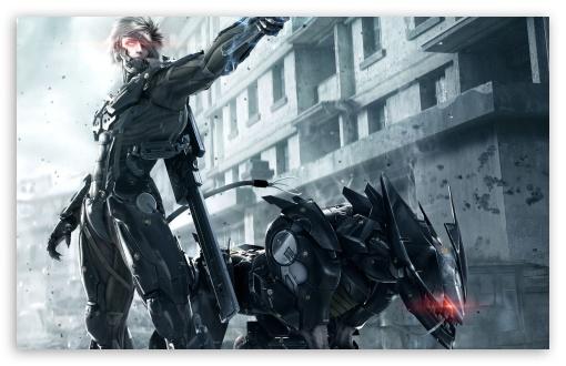 Download Metal Gear Rising- Revengeance UltraHD Wallpaper