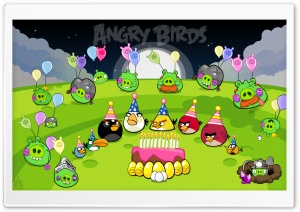 Angry Birds Party Night &...