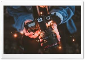Canon Camera, Girl Hands