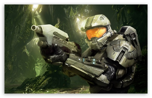 Download Halo 4 Jungle From Jacob Stamm UltraHD Wallpaper