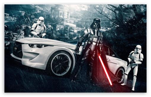 Download Darth Vader and Stormtroopers UltraHD Wallpaper