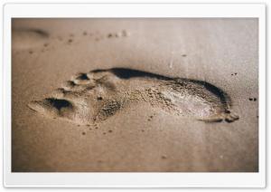 Beach Foot Print
