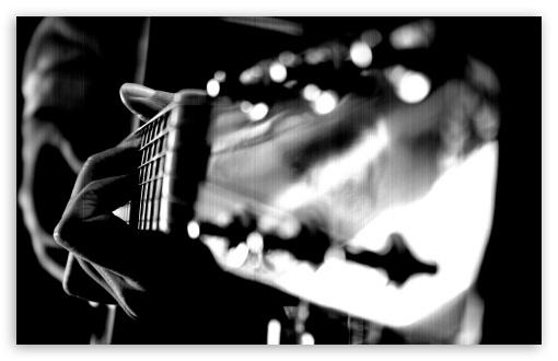 Download Guitar Strings Macro UltraHD Wallpaper